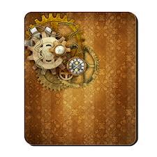 Steam Dreams: Gears Wall 2 Mousepad