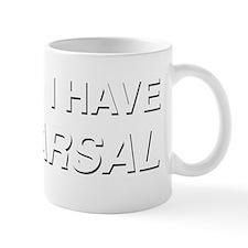 I CANT I HAVE REHEARSAL (white text) Mug