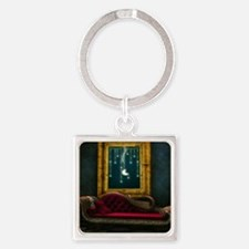 Steam Dreams: Chaise and Frame Square Keychain
