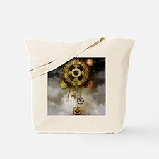 Steam Dreams: Sky Clock Tote Bag