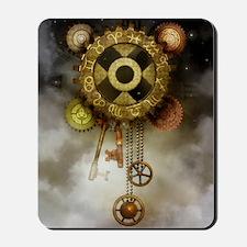 Steam Dreams: Sky Clock Mousepad