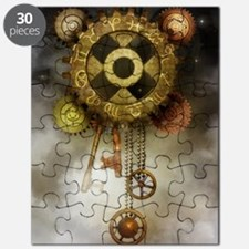 Steam Dreams: Sky Clock Puzzle