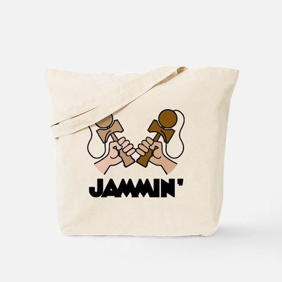 Kendama Jammin Tote Bag
