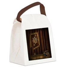 Steam Dreams: Picture Frame  Book Canvas Lunch Bag
