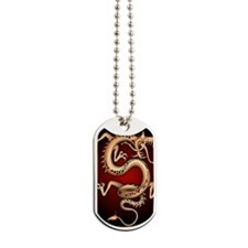 Lucky Chinese Dragon Dog Tags