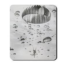 Vintage Paratrooper Mousepad