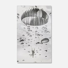 Vintage Paratrooper Wall Decal