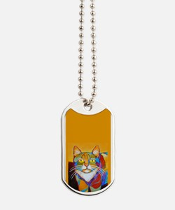 Cat-of-Many-Colors Dog Tags