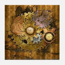 Steam Dreams: Gear Wall Tile Coaster