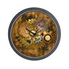 Steam Dreams: Gear Wall Wall Clock