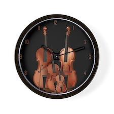m_large_wall_clock_hell Wall Clock