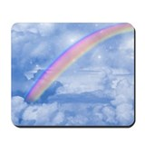Colorful rainbow gel mousepad Mouse Pads
