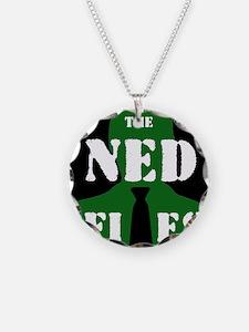 Reverse NED logo Necklace