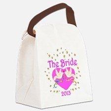 THE BRIDE Canvas Lunch Bag