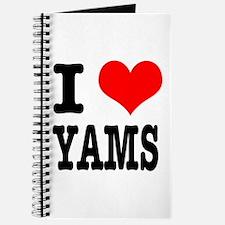 I Heart (Love) Yams Journal