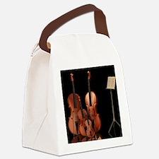 m_puzzle Canvas Lunch Bag