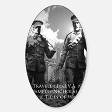 Time Traveler HOVA and Nicholai Cag Decal