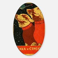 Belka and Strelka Decal