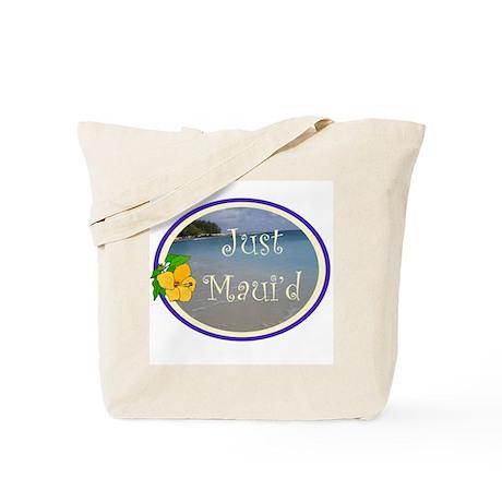 Just Maui'd Beach Logo Tote Bag