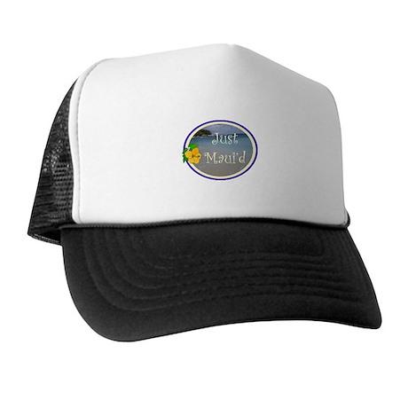 Just Maui'd Beach Logo Trucker Hat