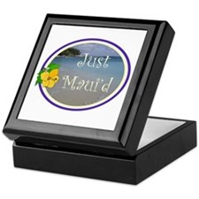 Just Maui'd Beach Logo Keepsake Box