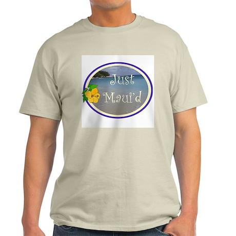 Just Maui'd Beach Logo Light T-Shirt