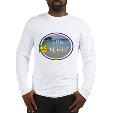 Just Maui'd Beach Logo Long Sleeve T-Shirt