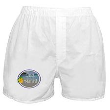 Just Maui'd Beach Logo Boxer Shorts