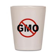 No GMO! Shot Glass