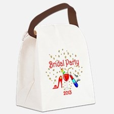 BRIDAL PARTY Canvas Lunch Bag