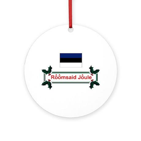 Estonia Roomsaid.. Keepsake Ornament