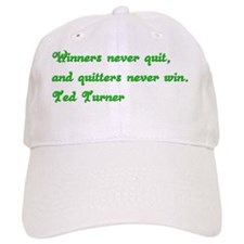Coffee Mug with Ted Turner quote Baseball Cap