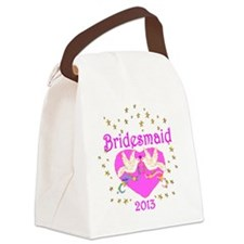BRIDESMAID Canvas Lunch Bag