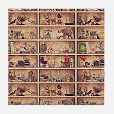 Toy Shelves Tile Coaster