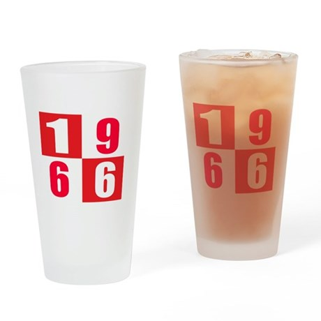 Made In 1966 designs Drinking Glass