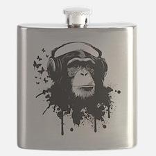 Headphone Monkey Flask