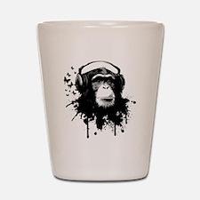 Headphone Monkey Shot Glass
