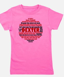 dexterquotesbutton Girl's Tee