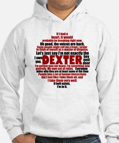 dexterquotesbutton Hoodie