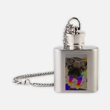 Beach Puggy Flask Necklace