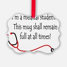 Medical Student Mug Ornament