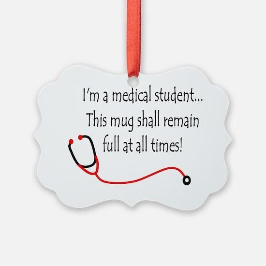 Medical Student Mug Ornament
