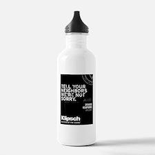 Were Not Sorry Water Bottle