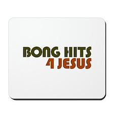 Bong Hits 4 Jesus Mousepad