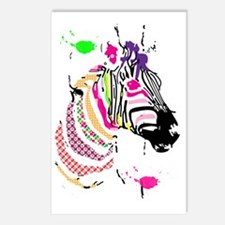 Zebra on Dope Postcards (Package of 8)