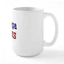 My Papa ROCKS Mug