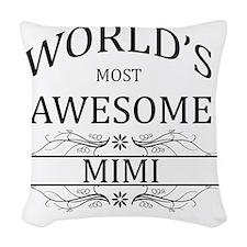 mimi Woven Throw Pillow
