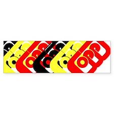 OPP Bumper Bumper Sticker