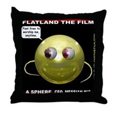 Flatland The Film - A Sphere Throw Pillow