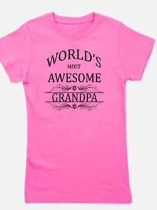 grandpa Girl's Tee